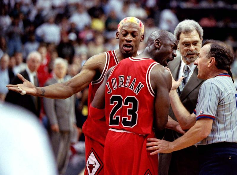 Dennis Rodman was unique, to say the least. (Reuters)