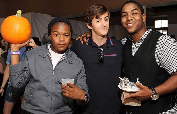 Former Nickelodeon star Rob Pinkston came between Disney brothers Kyle and Christopher Massey. Mark Sullivan/WireImage.com