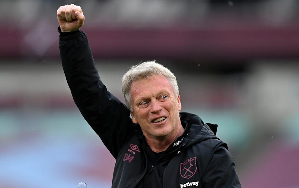 David Moyes. - GETTY IMAGES