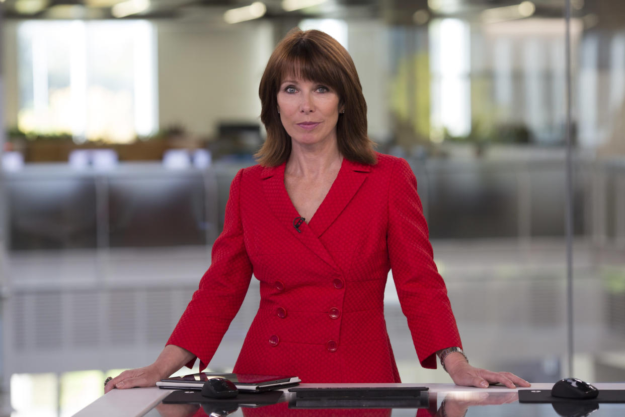 Kay Burley was suspended from Sky News. (Sky News)
