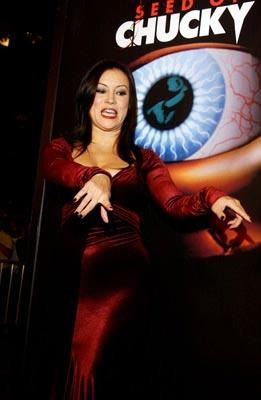 "Premiere: <a href=""/movie/contributor/1800018758"">Jennifer Tilly</a> at the Los Angeles premiere of Rogue Pictures' <a href=""/movie/1808405790/info"">Seed of Chucky</a> - 11/10/2004<br>Photo: <a href=""http://www.wireimage.com/"">Amy Graves, WireImage.com</a>"