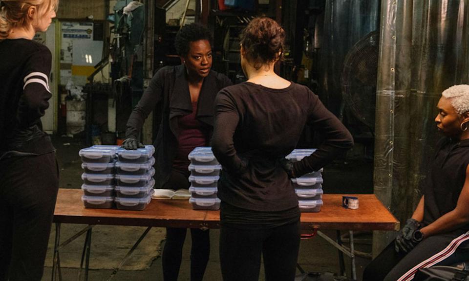 <p>Steve McQueen delivers a slick, suspenseful heist movie with a feminist core grounded by Viola Davis and stand-out performances from Elizabeth Debecki and Daniel Kaluuya. This isn't just a good female heist movie, it's a great heist movie. Period. </p>