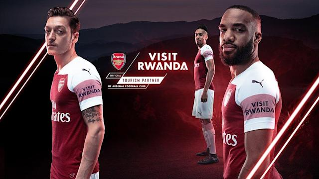 The Gunners' first sleeve sponsor agreement with Visit Rwanda surpasses that of their Premier league rivals
