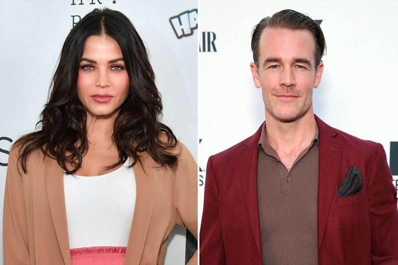 Jenna Dewan and James Van Der Beek | Erik Pendzich/Shutterstock; Rich Fury/Getty