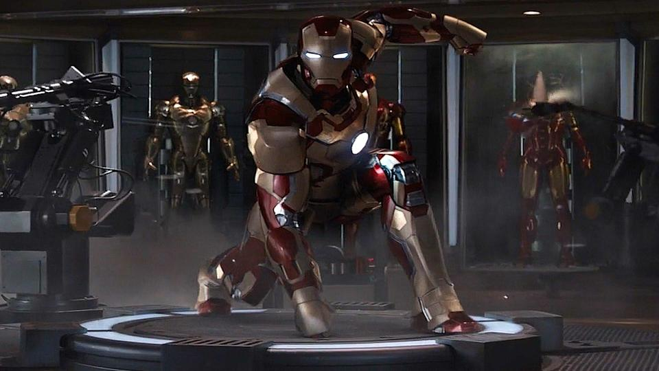 <p>Shane Black's unique take on the fractured, imperfect world of Tony Stark was the first of Marvel's solo movies to pass $1 billion at the box office. It's also a well-rounded, and gut-bustingly funny follow-up to the disappointingly weak <em>Iron Man 2</em>, with one of the MCU's best ever reveals when it comes to Sir Ben Kingsley's memorable The Mandarin. </p>