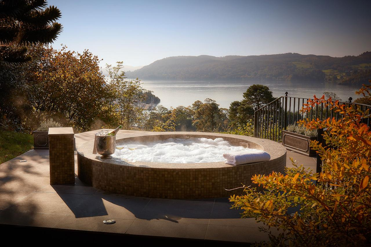 """<p><strong>The epitome of indulgence, hot tubs provide a spa-style experience to romantic weekends away. When it comes to booking a hot tub break in the UK, the possibilities are endless, allowing you to get away from it all in remote rural locations and enjoy coastal scenes, country hideaways and riverside views from your own bubbling oasis. </strong></p><p>A hot tub holiday is the perfect way to add a touch of luxury to your mini-break, whether you're looking to treat your other half to a <a href=""""https://www.housebeautiful.com/uk/lifestyle/g28195145/places-to-stay-in-the-lake-district/"""">two-day break or a long weekend</a> – and they're wonderful at any time of year. </p><p>They're ideal for couples who are happy to hole up in their accommodation, while just as lovely for those who like to get out and about to explore their destination before retiring to a relaxing space.</p><p>Whatever your holiday style, we've selected the UK's best lodges, cottages and hotels with hot tubs. From lodges in the Lake District to cottages in Wales, you'll adore these getaways for two. </p><p>Here are the romantic weekend breaks with hot tubs on our radar right now...<br></p><p>We earn a commission for products purchased through some links in this article</p>"""