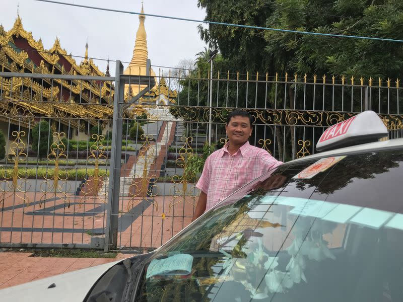 'Not scared of the virus', Myanmar taxi driver's pilgrimage to a sacred pagoda