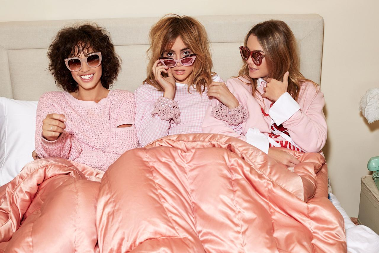 "<p><a rel=""nofollow"" href=""https://www.shopbop.com/"">Shopbop</a> Spring 2017 Campaign Pretty in Pink (Photo: Courtesy of Shopbop) </p>"