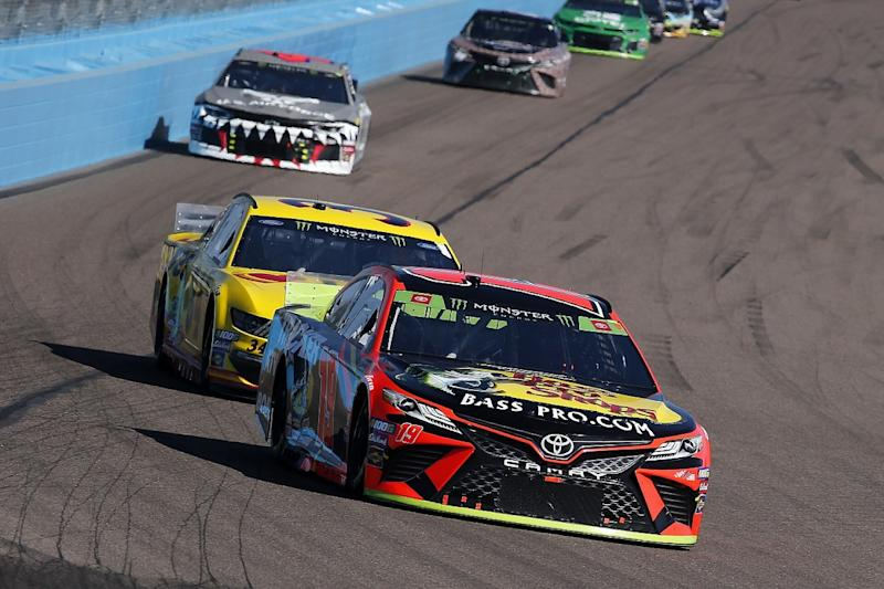 Why Truex raced at Phoenix with 'half a team'