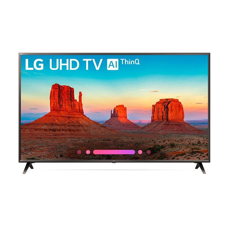"LG 55"" Class 4K (2160) HDR Smart LED UHD TV w/AI ThinQ. (Photo: Walmart)"