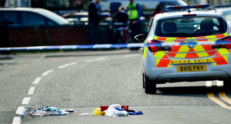 """The unnamed officer was left with a fractured skull and bleeding to the brain after the """"heinous"""" incident in Coventry on Wednesday (SWNS)"""
