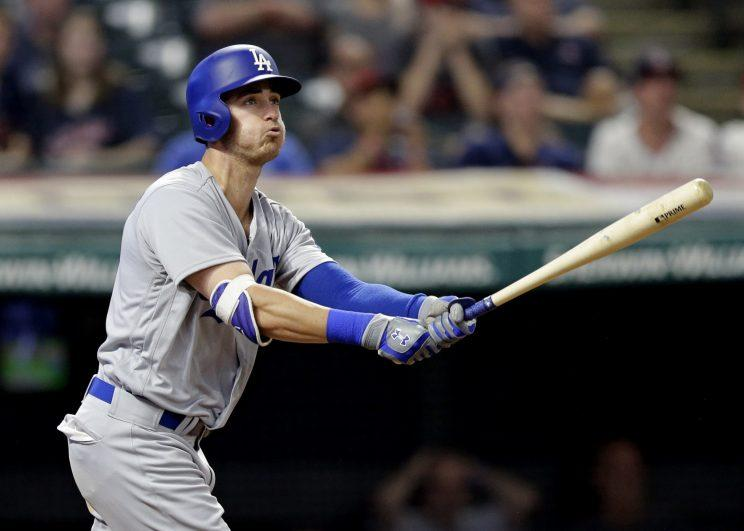 Cody Bellinger has made home-run history in his first 45 games. (AP)