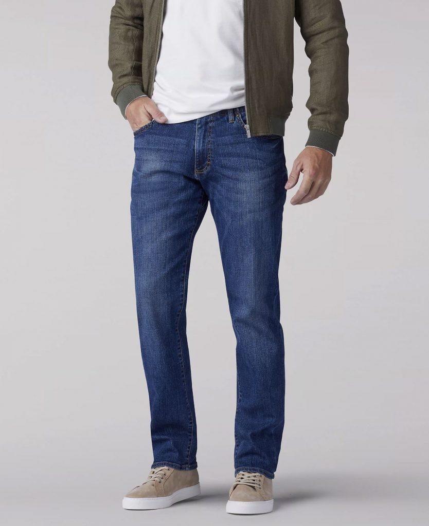 Lee Men's Extreme Motion Straight Fit Tapered Jeans