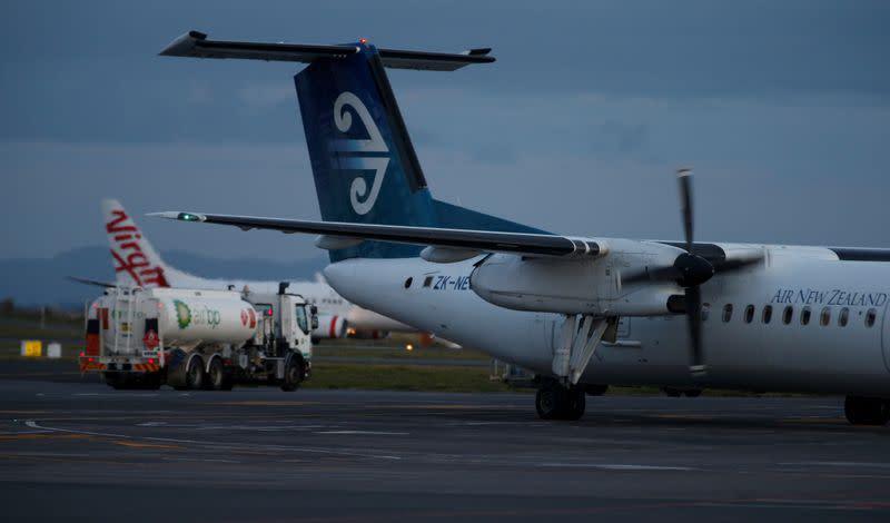 Airlines plan furloughs; Air New Zealand sees smaller carrier in a year