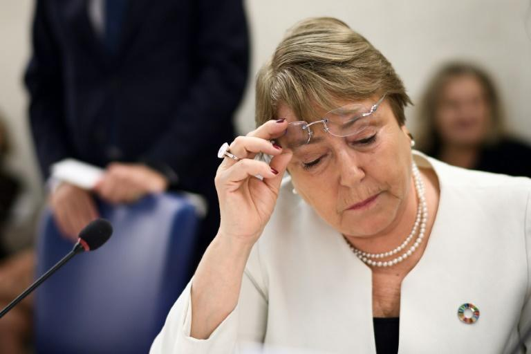 """UN High Commissioner for Human Rights Michelle Bachelet said  January 16 the UN office had been informed by """"credible sources"""" people were killed between December 16 and 18 in four villages in Yumbi"""