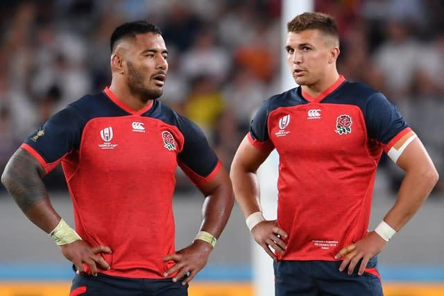 Manu Tuilagi and Henry Slade will be fit for England's match against Ireland at Twickenham (Ashley Western/PA Images).