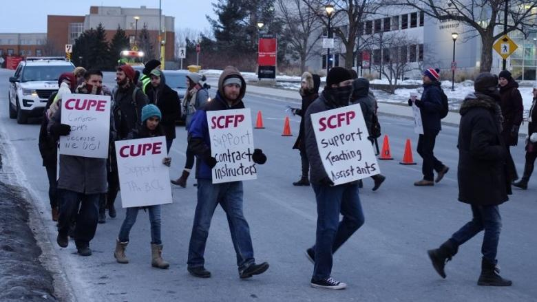 Contract faculty at York University could strike at midnight