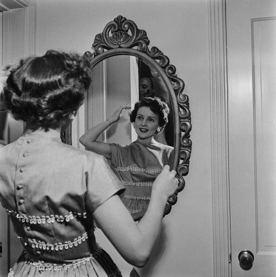 """<p>As <em>Life with Elizabeth</em> grew in popularity, Betty became an even bigger name in the television world. Sadly, in 1955 the show <a href=""""https://www.britannica.com/biography/Betty-White"""" rel=""""nofollow noopener"""" target=""""_blank"""" data-ylk=""""slk:ended after two seasons"""" class=""""link rapid-noclick-resp"""">ended after two seasons</a>. </p>"""