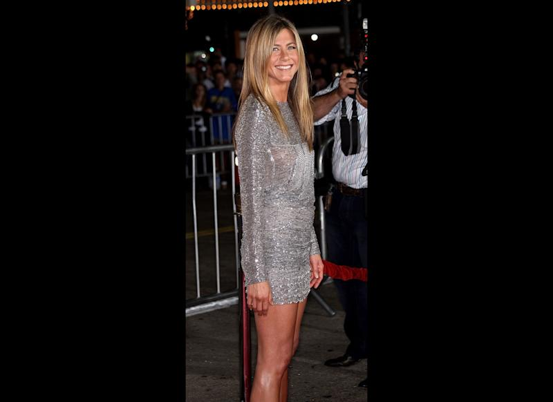 LOS ANGELES, CA - SEPTEMBER 15: Actress Jennifer Aniston attends the 'Love Happens' film premiere at Mann's Village Theatre on September 15, 2009 in Los Angeles, California. (Photo by Frederick M. Brown/Getty Images)