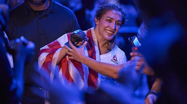 Tatiana Suarez is undefeated in her young UFC career, but the most important victory of her career came outside the Octagon.
