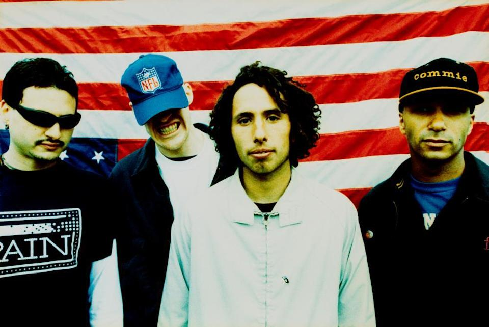 Appropriated by Trump … Rage Against the Machine in 1996.