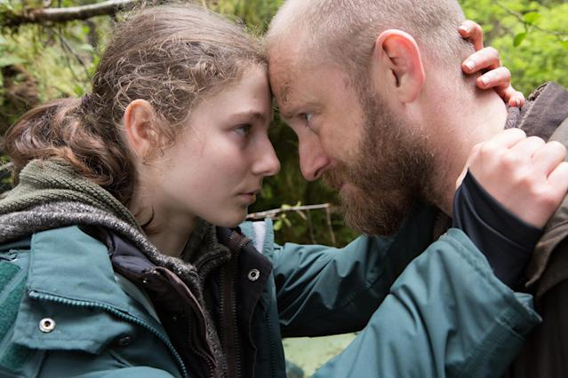 Thomasin McKenzie and Ben Foster in <em> Leave No Trace</em>. (Photo: Bleecker Street)