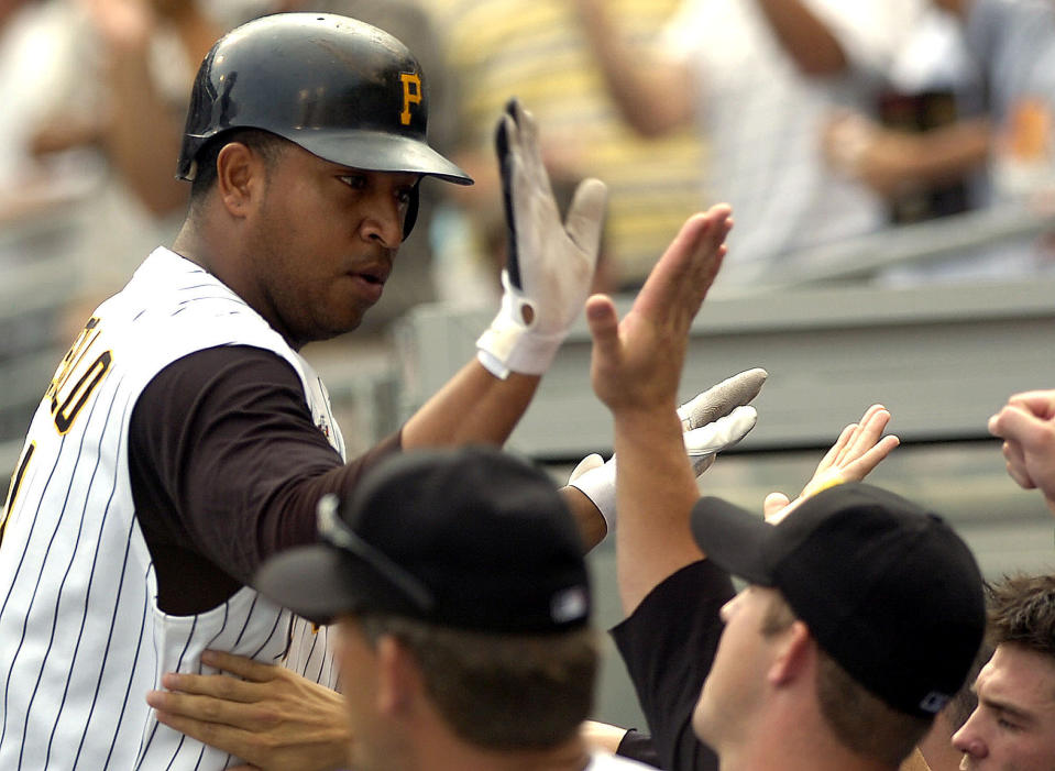José Castillo played five seasons in the majors, mostly with the Pittsburgh Pirates. (AP)