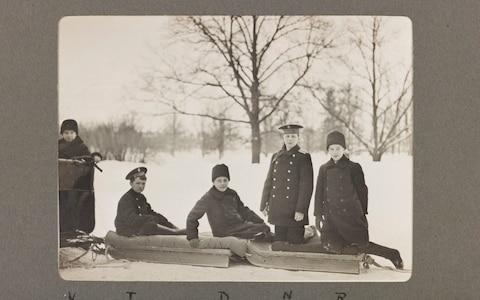 Photographs from an album kept by the Romanov children's tutor will go on display