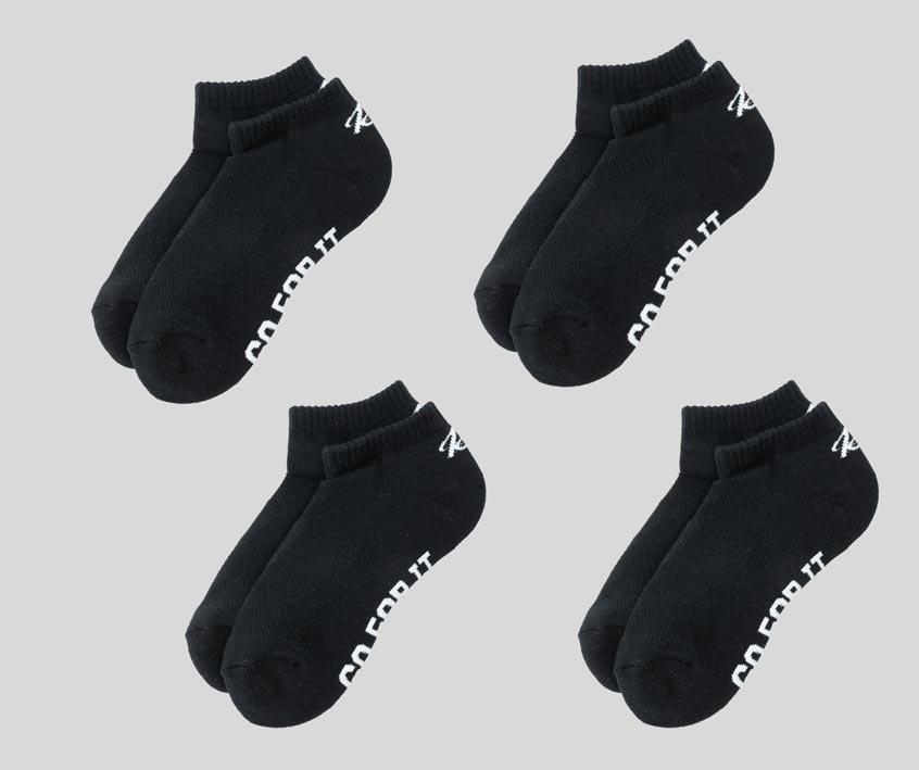 """<p><strong>Inside Story</strong></p><p>insidestory.co</p><p><strong>$60.00</strong></p><p><a href=""""https://insidestory.co/products/men-s-all-purpose-ankle-4-pack-60?variant=39550542184629"""" rel=""""nofollow noopener"""" target=""""_blank"""" data-ylk=""""slk:Shop Now"""" class=""""link rapid-noclick-resp"""">Shop Now</a></p><p>Made from golfers themselves, these socks are said to fit great and not slip. Dad won't even be able to tell that they're actually made of recycled plastic and coffee grounds. </p>"""