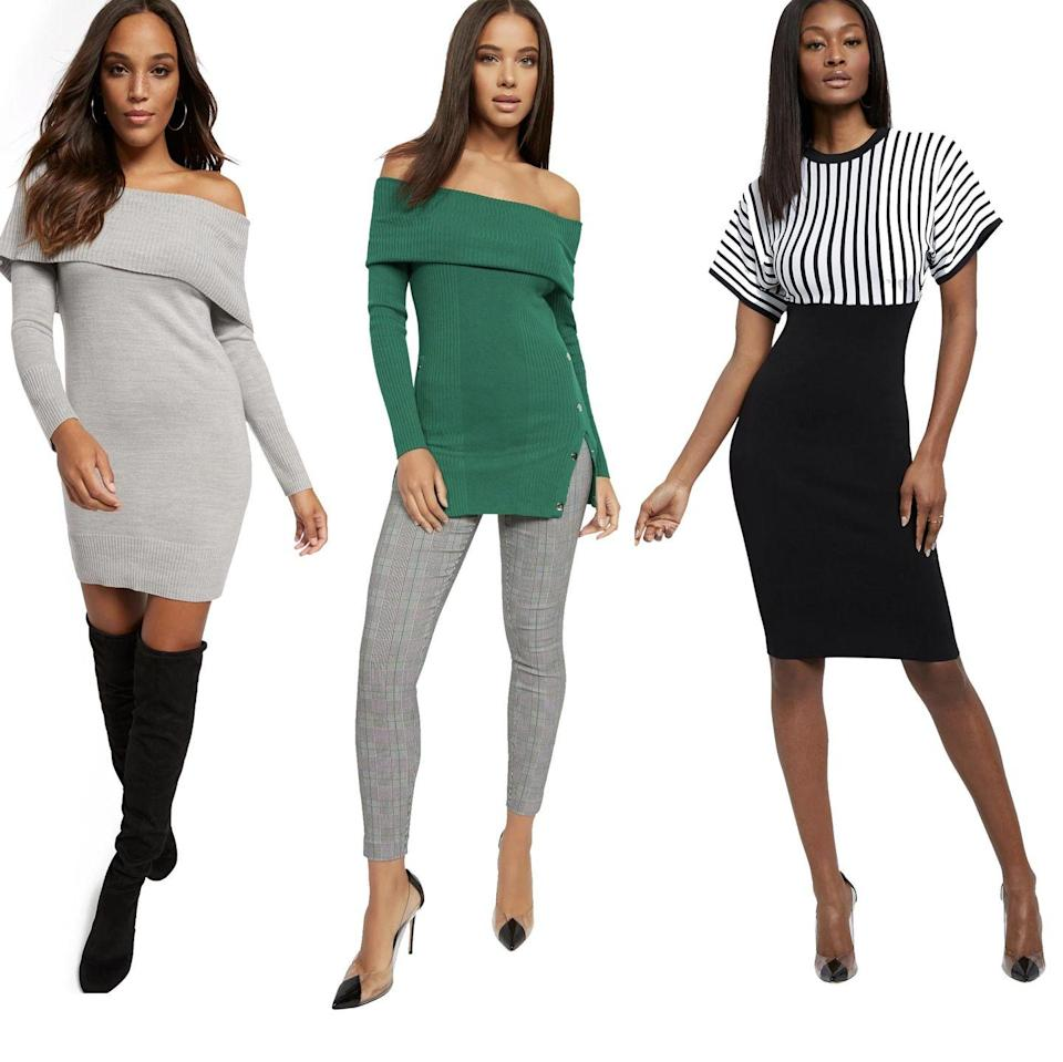 """<p><strong><em>Cost:</em></strong> $50/month<em><br><strong>Who it's for: </strong></em>Women<br><strong><em>What you'll get:</em></strong> 3 items at a time that you can swap</p><p>New York & Company's clothing subscription is <strong>the cheapest rental, but it still gives incredible value</strong> because you get three items at a time with unlimited swapping throughout the month. There are lots of styles to choose from with options for work and weekend outfits, and it ranges in sizes XS to XXL.</p><p>The rental works just like the other clothing brands with rental services: you add items to your closet, get a shipment based on what's available, and when it's time to return you send back all three items to get a new box.</p><p><a class=""""link rapid-noclick-resp"""" href=""""https://www.nyandcompanycloset.com/"""" rel=""""nofollow noopener"""" target=""""_blank"""" data-ylk=""""slk:SHOP NOW"""">SHOP NOW</a></p>"""