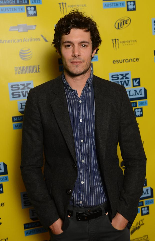 AUSTIN, TX - MARCH 09:  Actor Adam Brody attends the 'Some Girl(s)' red carpet arrivals at the 2013 SXSW Music, Film + Interactive Festival held at the Topfer Theatre at ZACH on March 9, 2013 in Austin, Texas.  (Photo by Mark Davis/Getty Images)