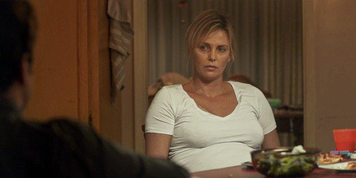 Charlize Theron plays pregnant mother-of-two Marlo