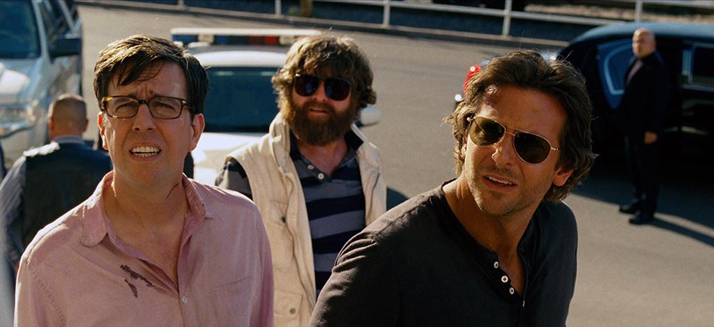 "Ed Helms, Zach Galifianakis and Bradley Cooper in Warner Bros.' ""The Hangover Part III"" - 2013"