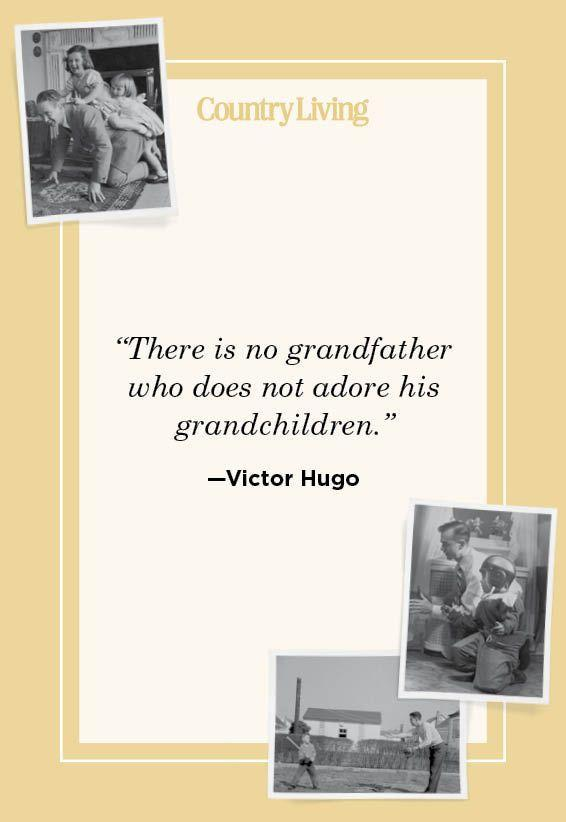 """<p>""""There is no grandfather who does not adore his grandchildren.""""</p>"""