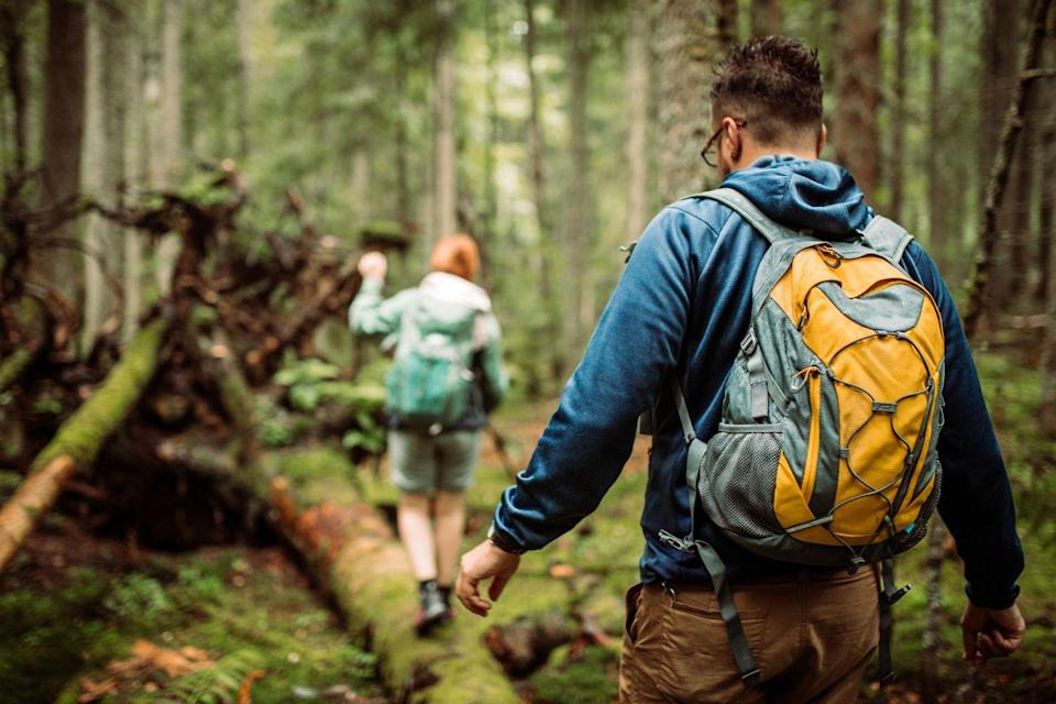 <p>If you prefer the outdoors, go to a rocky trail. It can be great to get moving at a higher elevation. </p>