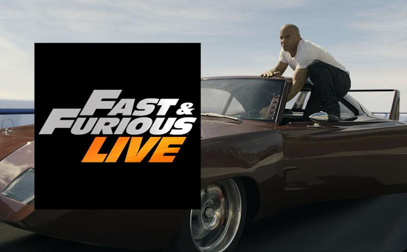 Fast And Furious Live Global Live Arena Tour Announced