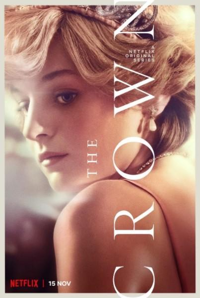 Emma Corrin, a 24-year-old actress little known until now, immerses herself in the role of the young Diana, capturing her soft voice and timid gaze from under a heavy fringe, for season 4 of 'The Crown.'