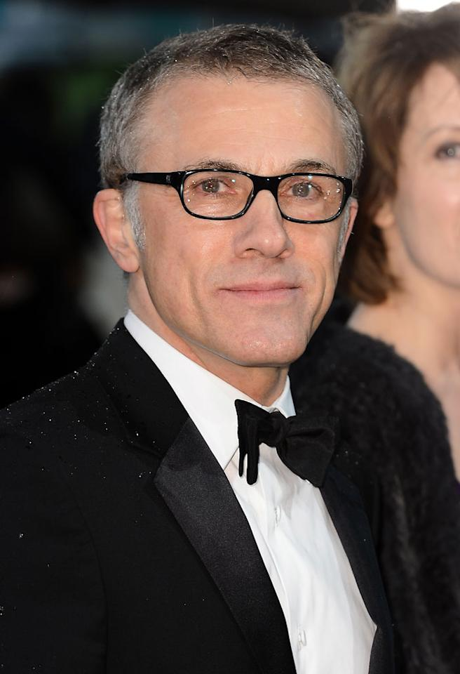 Christoph Waltz attends the EE British Academy Film Awards at The Royal Opera House on February 10, 2013 in London, England.  (Photo by Ian Gavan/Getty Images)