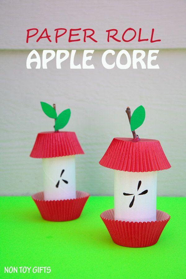 """<p>Apple picking is one of the best parts of fall, and this easy-to-follow paper craft only adds to the fun, especially once apple season comes to an end.</p><p><em><a href=""""http://nontoygifts.com/paper-roll-apple-core-craft/"""" rel=""""nofollow noopener"""" target=""""_blank"""" data-ylk=""""slk:Get the tutorial at Non Toy Gifts »"""" class=""""link rapid-noclick-resp"""">Get the tutorial at Non Toy Gifts »</a></em> </p>"""