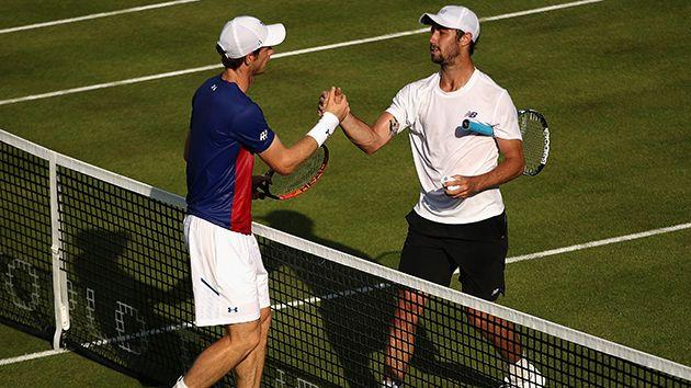 Thompson was too good for Murray. Image: Getty