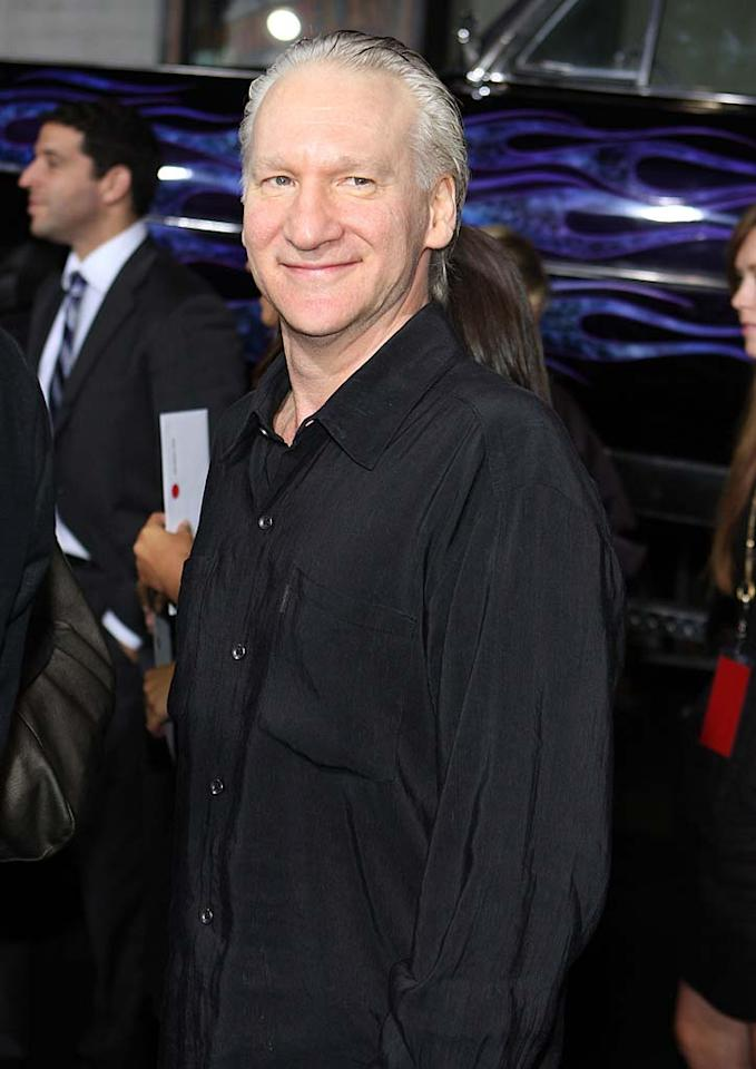 "January 20: Bill Maher turns 55 Chelsea Lauren/<a href=""http://www.wireimage.com"" target=""new"">WireImage.com</a> - September 23, 2009"