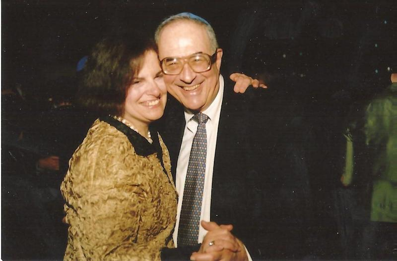 Sue Ducat and Stan Cohen, dancing in Washington, D.C. in 2015 or 2016.