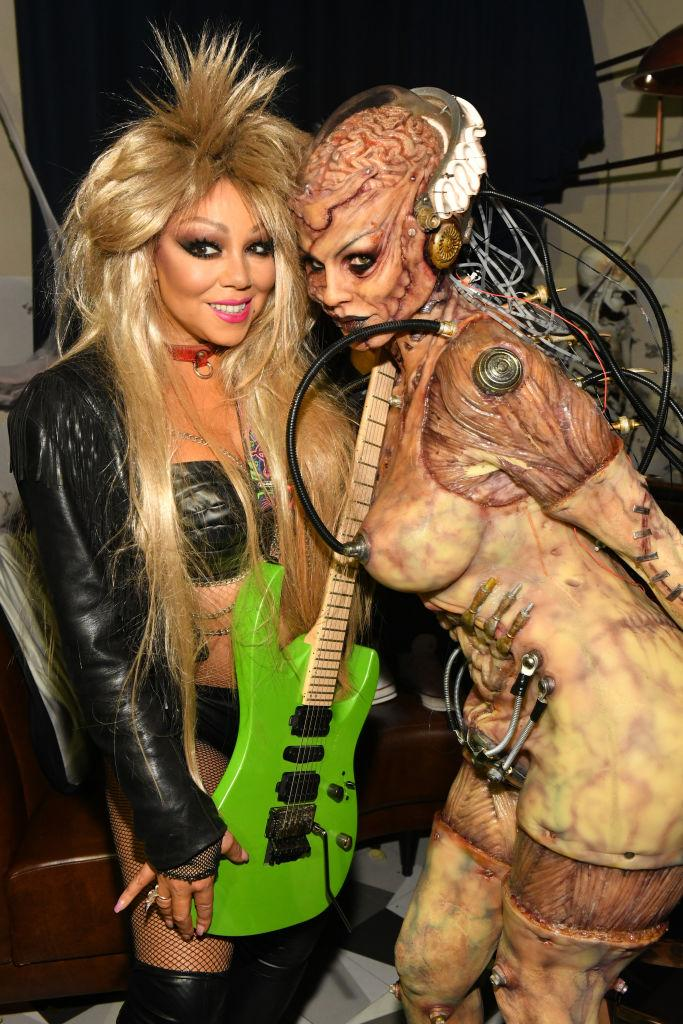 Mariah Carey and Heidi Klum attend Heidi Klum's 20th Annual Halloween Party. [Photo: Getty]