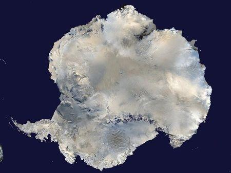 A satellite view of Antarctica is seen in this undated NASA handout photo obtained by Reuters February 6, 2012. REUTERS/NASA/Handout via Reuters/Files