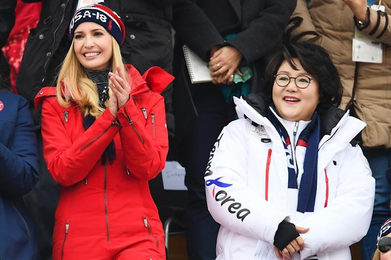 United States warns North Korea of 'maximum pressure' as Ivanka Trump hits Olympics