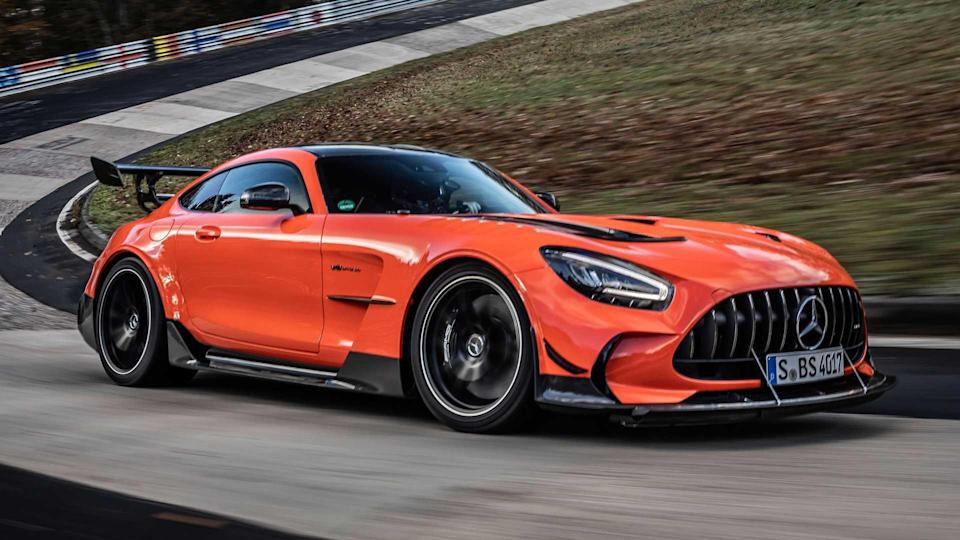 Mercedes-AMG GT Black Series On Track During Nurburgring Record Run