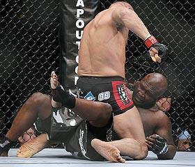 Randy Couture had little trouble dominating James Toney