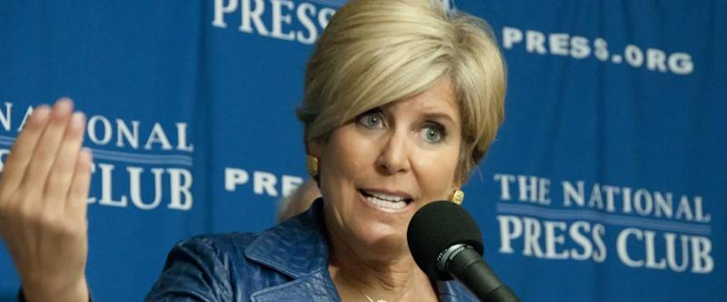WASHINGTON, DC - JANUARY 12: Financial adviser, author, and TV personality Suze Orman speaks at a press conference at the National Press Club, January 12, 2012, in Washington, DC