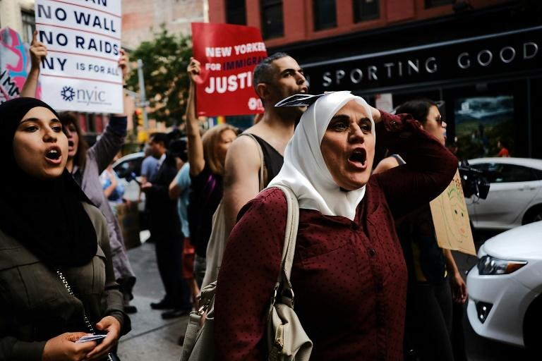 The onset of US President Donald Trump's ban on travelers from six countries in June sparked protests that it targeted Muslims