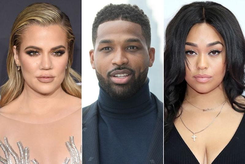 Khloé Kardashian, Tristan Thompson and Jordyn Woods | Jamie McCarthy/Getty; George Pimentel/Getty; Mike Marsland/WireImage